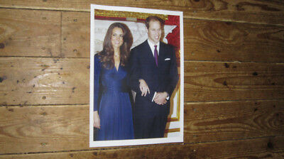 PRINCE WILLIAM KATE MIDDLETON ENGAGEMENT AWESOME POSTER