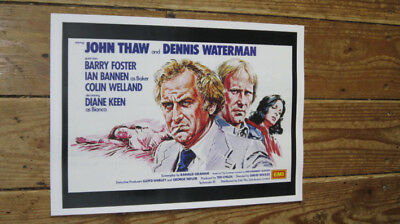 The Sweeney John Thaw Repro FIlm POSTER