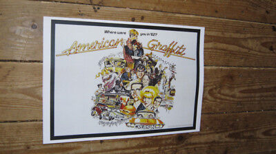 American Graffiti Repro Advertising POSTER