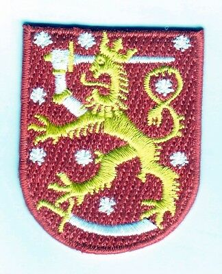 Finnland Aufbügler Patch Finland Suomi Coat of Arms