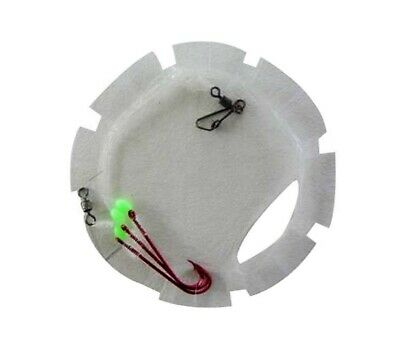 Surecatch Whiting Rig with Size 6 Chemically Sharpened Hooks and Lumo Beads