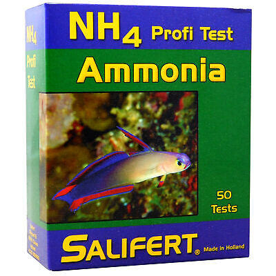 Salifert Ammonia Nh4 Profi Test Kit Marine Reef Fish Aquarium Tank