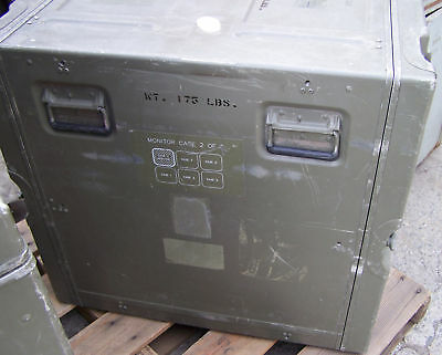 US Military Surplus Computer Transport/Shipping Case