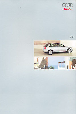 2000 2001 Audi A3 Deluxe Sales Brochure Books German