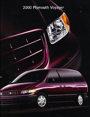 2000 Plymouth Grand Voyager Deluxe Sales Brochure