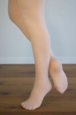 Dance Tights BALLET PINK FOOTED Sizes Toddler - Extra Large Adult  ON SALE!