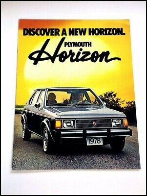 1978 Plymouth Horizon First Year Sales Brochure