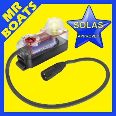 SOLAS APPROVED Water Activated Lifejacket EMERGENCY LED Strobe Light FREE POST