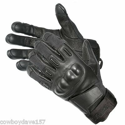 Blackhawk SOLAG Kevlar Assault Gloves 8151SMBK Small Black Authentic Blackhawk