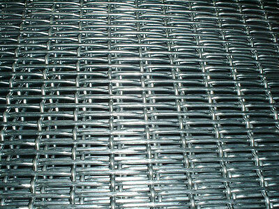 Woven wire mesh 3 gauge per square foot