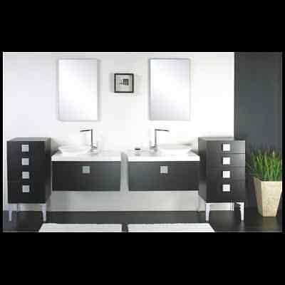 double colonne de rangement meuble de salle de bains un. Black Bedroom Furniture Sets. Home Design Ideas