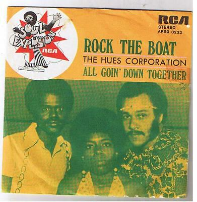 """The House Corporation """"rock The Boat"""" 7"""""""