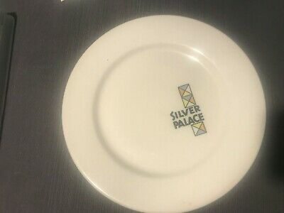 Silver Palace Hotel Casino Dinner Plate Wallace China
