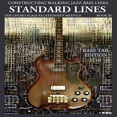 Standard Lines Jazz Bass Tab  Book Electric Bass Ed