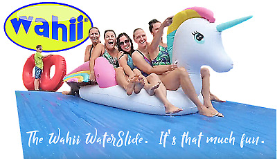 WAHII WATERSLIDE 50ft!....water slides for sale!