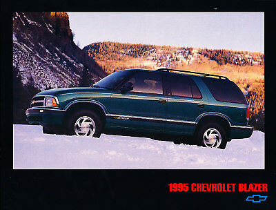 1995 Chevrolet Tahoe SUV original Sales Brochure Sheet