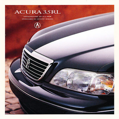 1996 Acura 3.5 RL Original Intro Mailer Sales Brochure Folder