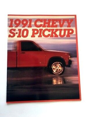 1991 Chevrolet Truck Sales Brochure 26-page S-10 S10