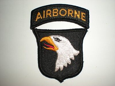 Us Army 101St Airborne Division Patch With Tab - Full Color