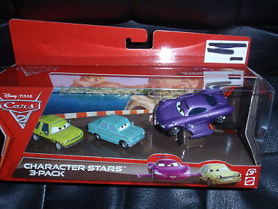 Disney Cars 2 3 pack A TRUNKOV ACER HOLLEY SHIFTWELL w/ WINGS
