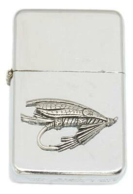 Fishing Fly  Petrol Lighter FREE ENGRAVING Gift boxed