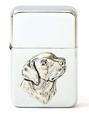 Labrador  Petrol Lighter FREE ENGRAVING Shooting Gift