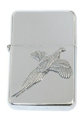 Pheasant  Petrol Lighter FREE ENGRAVING Shooting Gift