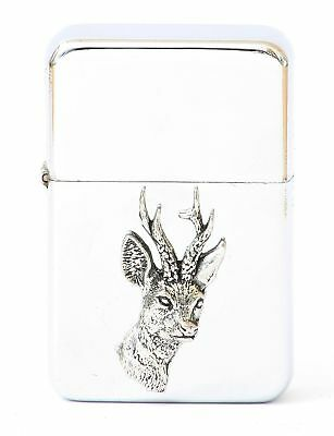 Roe Deer Design Petrol Lighter FREE ENGRAVING  Gift