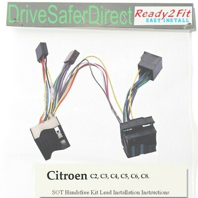 SOT-040-03 Cable,adaptor for Parrot MKi9200/Citroen