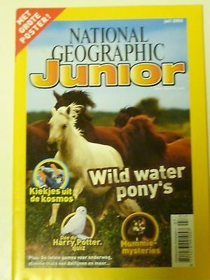 National Geopgraphic Junior juli 2005 (Dutch)