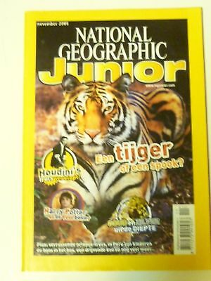 National Geopgraphic Junior november 2005 (Dutch)