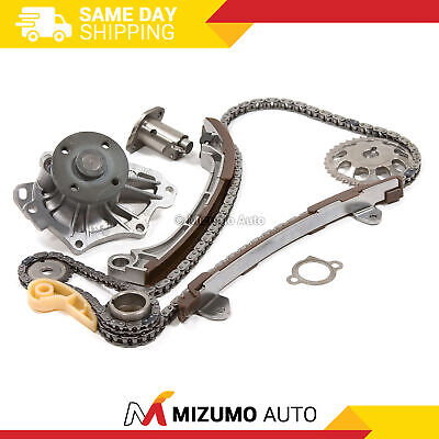 Timing Chain Kit Water Pump Fit 01-13 Toyota Camry Matrix Rav4 Scion 2.4 2AZFE