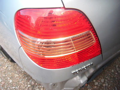 01 Toyota Avensis Left Tailamp 5dr H/B