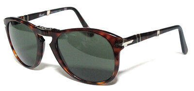 372ad55a805 Persol 714 54 24 31 Dark Havana Sunglasses Sole Pieghevole Folding Avana  Scuro