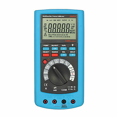 Hi accuracy 0.02% Multifunction Process Calibrator DCV/mA Source DMM 2in1 USB