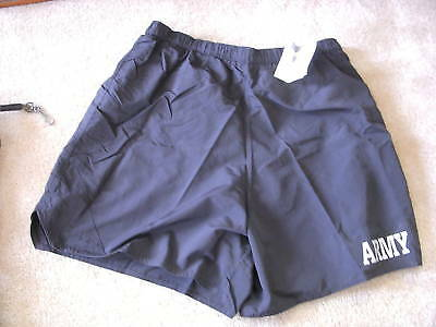 Us Army Ipfu Black Shorts Pt Trunks Size Xx-Large Nwt