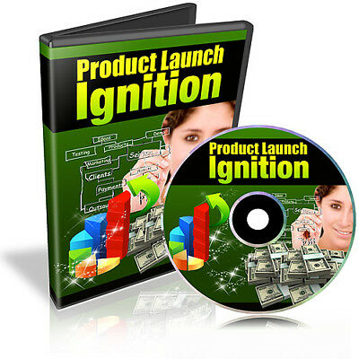 Product Launch Ignition Video Tutorials on CD
