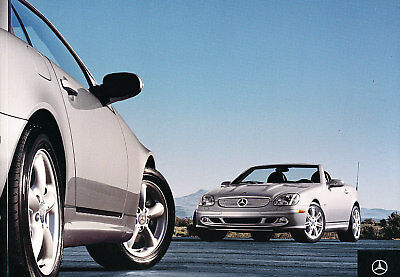2004 Mercedes Benz SLK320 SLK32 AMG Sales Brochure Book
