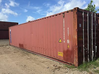 40' used HC Shipping Storage Container AUSTIN, TX
