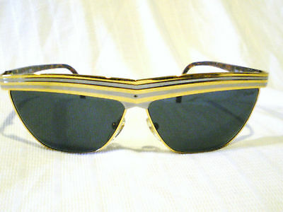 Vintage Charme Celebrity  Sunglasses Gold Gray Tortoise