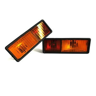 Land Rover Discovery 1 '94-'98 Rear Bumper Lights Lens Set - AMR6509 & AMR6510