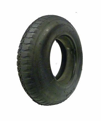 "3.50 - 8 Tyre And Inner Tube, Wheel, Wheelbarrow Replacement Fits 14"" Wheel"