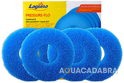 Laguna Pressure Flo 12000 14000 Filter Foam Kit Set  Pt1507 Pf12000 Pf14000