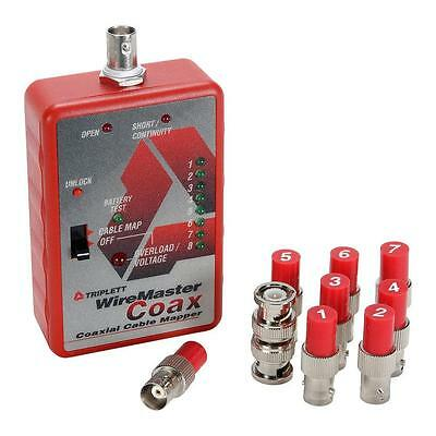 New 8 Way WireMaster Coax Tester by Triplett