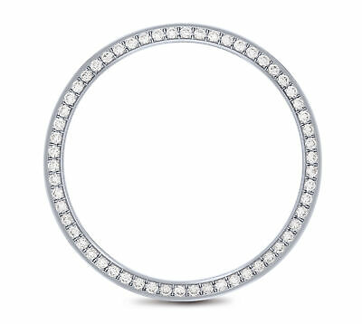 Mens Diamond Bezel For Datejust Rolex Watches Stainless