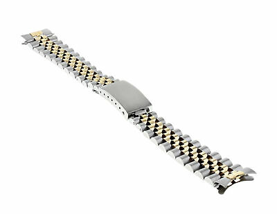 Midsize 18K/Ss Jubilee Watch Band For Rolex Datejust
