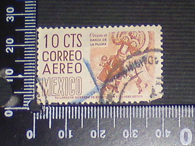 Used Stamp - Mexico - 10 Cts