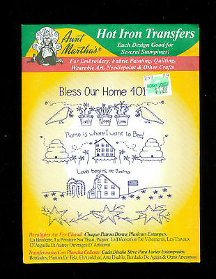 Aunt Martha's Transfer New 4010 Bless Our Home Cute