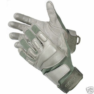 Blackhawk SOLAG Kevlar Assault Gloves 8114LGOD Large OD-Green Authentic