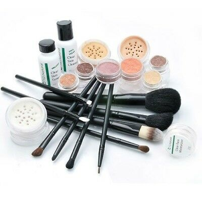 24pc Mineral Makeup Kit Flawless Face Acne Free Skin